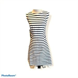 Classy limited striped dress